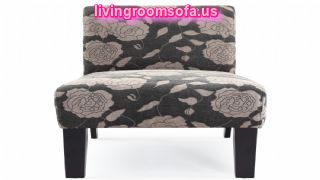 Flowers Patterned Accent Chairs For Less