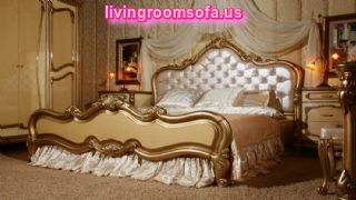 Golden Classic Bedroom Furniture Designs
