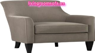 Gray Fabricchair For Living Room