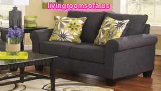 Gray Modern Living Room Sofa Design