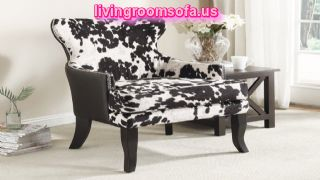 Leather Accent Arm Chair Design