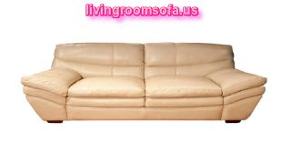Leather Beige Affordable Loveseats