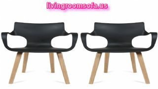 Leather Great Black Yellow Chaises Design Ideas