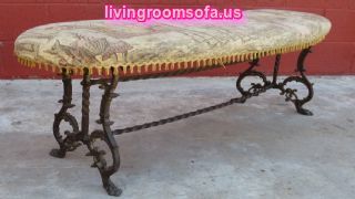 Metal Antique Bench Design