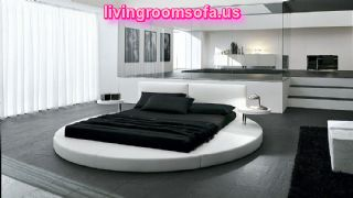 Modern Circular Bedroom Furniture Design Idea