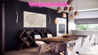 Modern Contemporary Dining Room Tables In Kitchen
