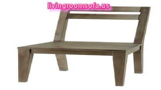 Modern Gray Wood Chaises Design Ideas