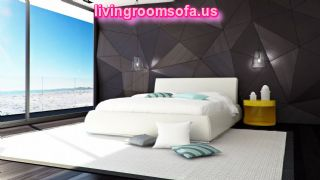 Modern Romantic Bedroom Furniture Design Idea