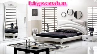 Modern White Bedroom Bed Sets Design