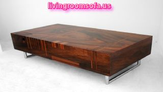 Modern And Brown Contemporary Coffee Tables