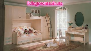 Modern And Comfortable Cool Bunk Beds With Storage For Kids Bedroom