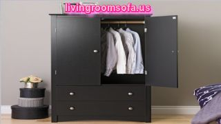 Modern And Gray Cheap Style Wardrobe Armoires Designs