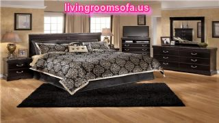 Modern Ashley Furniture Esmarelda Bedroom Set