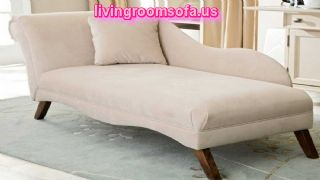 Modern Bedroom Chaise Lounge Fabric
