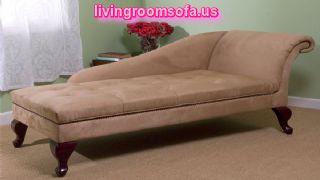 Modern Microfiber Fabric Foam Lounge Design