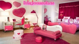 Pink Barbie Bedroom Decoration Ideas For Twin Girls