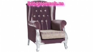 Purple Amazing Chairs For Living Room