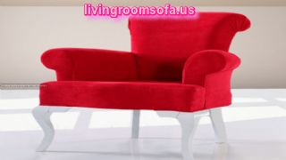 Red Chair Design For Living Room
