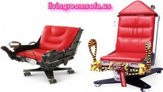 Red Ejector Chairs