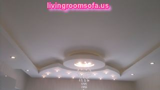 Secret Ceiling Lights Modern Design For Living Room