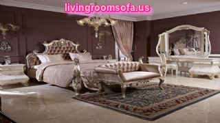 Silver Classic Bedroom Furniture Designs