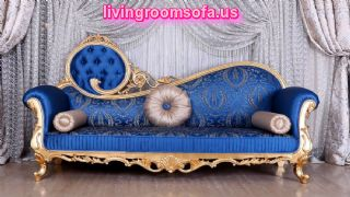The Best Blue Patterned Chaise Lounge
