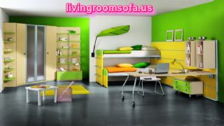 The Most Amazing And Colorful Cool Bunk Beds With Storage For Kids Bedroom