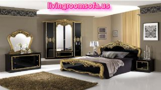 The Most Beaufitul Back And Classic Italian Bedroom Furniture