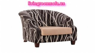 The Most Beaufitul Brown And White Chairs For Living Room