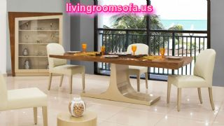 The Most Beaufitul And Modern Contemporary Dining Room Tables For Livingroom