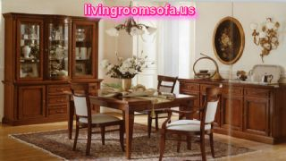 Traditional Casual Wooden Dining Room Furniture