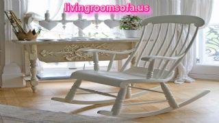 White  Rocking Chair Chaises Design Ideas