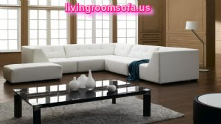 White Affordable Contemporary Sofa Design Ideas