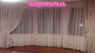 White Bedroom Net Curtain Ideas