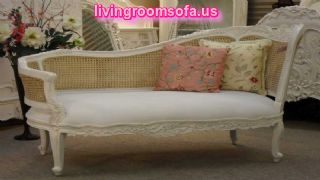 White Chaise Lounge Design Ideas