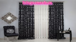Wonderful Black Bedroom Curtain Ideas