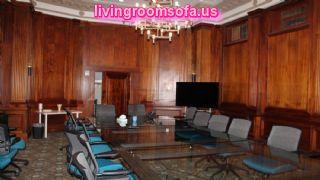 Wooden Business Office Furniture Design Idea