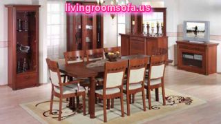 Wooden Casual Dining Room Traditional Furniture