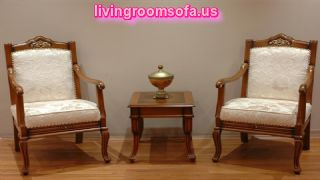 Wooden Chairs For Living Room Design Ideas