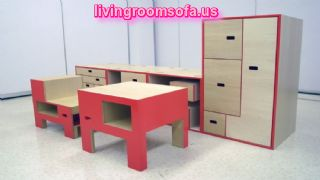 Yellow And Red Wardrobe Children Furniture Designs