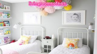 Amazing Chic Girls Twin Bedroom