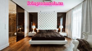 Amazing Delightful And Apartment Design White Brown Bedroom Kenholt