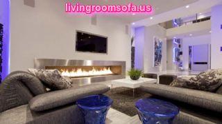 Amazing Futuristic Living Room Interior Design Living Room Modern Modish Interior Design Charming Fireplace Tv Screen