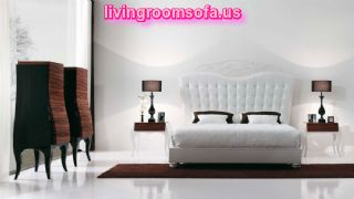 Antique Contemporary White Bedroom Furniture