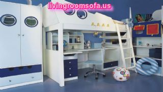 Awesome Boy Bedroom Furniture Sets Visualized With Vessel Bunk Beds And Wardrobe Plus Awning Storage