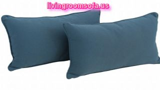 Back Support Pillows With Cording Set
