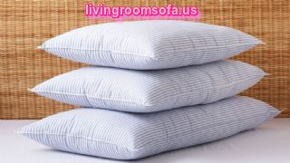 Basic Stripe Bed Pillow