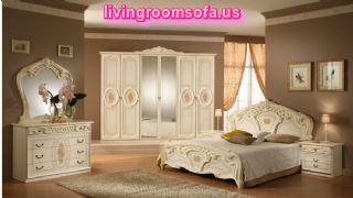 Beautiful Classic Bedroom Design Decorating Furniture Ideas White