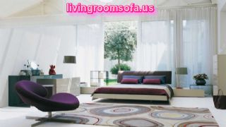 Best Decoration Exclusive White Purple Bedroom Chair