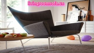 Best Design Idea Gray White Living Room Modern Chair